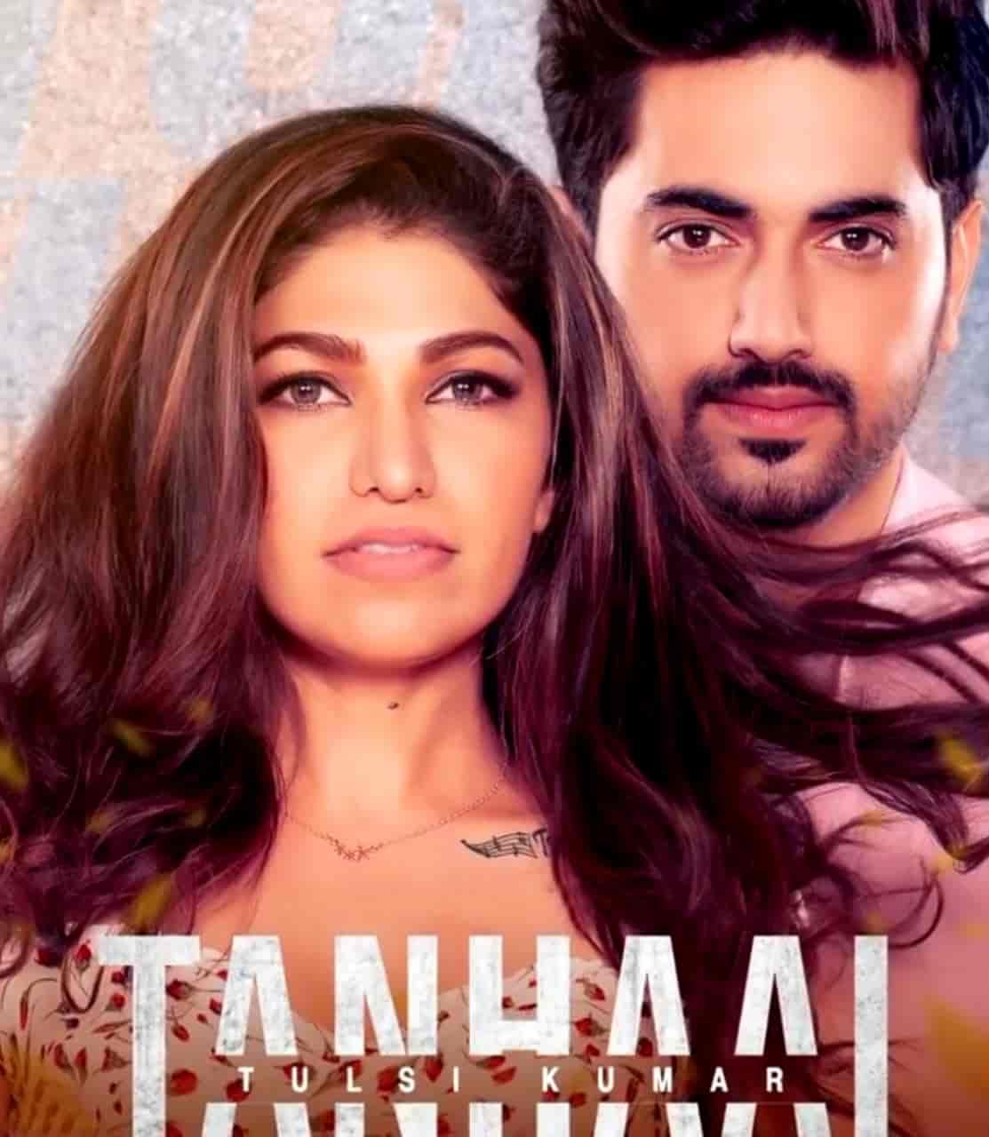 Tanhaai Sad Hindi Song Image Features Tulsi Kumar and Zain Imam