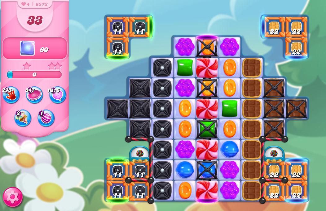 Candy Crush Saga level 8572