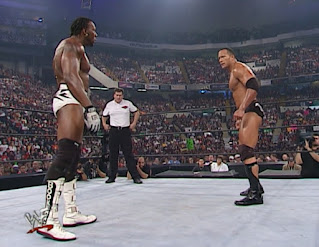 WWE / WWF Unforgiven 2001 - The Rock faced Booker T for the WCW title