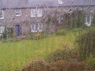 Rain at Ffald-y-Brenin