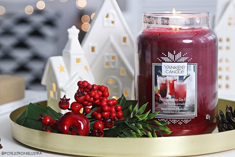 yankee candle pomegrenate gin fizz recenzja na blogu