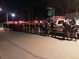 Policiais do 4º BPM realizam Operações Cidade Segura e Previna-se