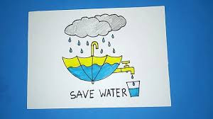 Save Water Drawings | Save Water Save life Drawings