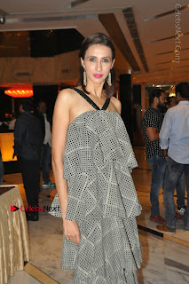 Indian Actress Model Alesia Raut Stills in Sleeveless Long Dress  0029.JPG