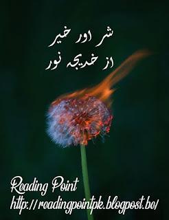 Shar aur Khair by Khadija Noor Online Reading
