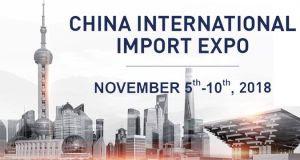 Resultado de imagem para Primeira Feira Internacional de Importação em Shanghai na China