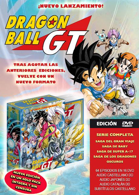 Selecta Visión anuncia el regreso de Dragon Ball GT en un solo BOX.
