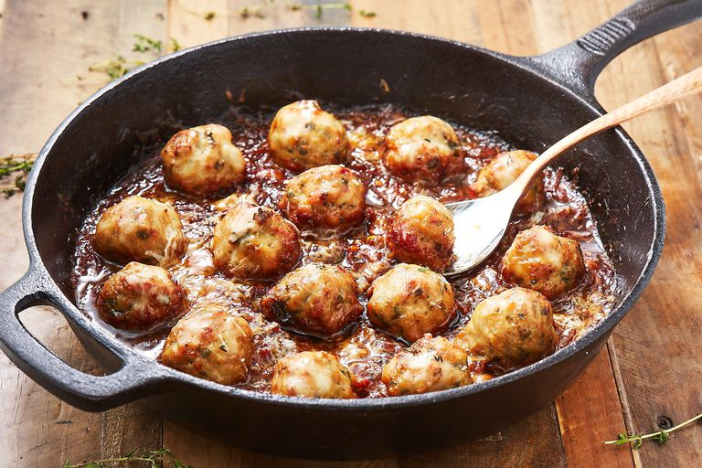 How To Make French Onion Chicken Meatballs Recipes