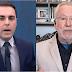 VÍDEO: Alexandre Garcia desmente apresentador ao vivo sobre fala de Bolsonaro na ONU
