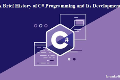 A Brief History of C# Programming and Its Development