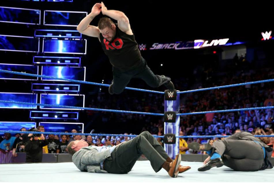 Kevin Owens deveria ter tido combate contra Vince McMahon na WrestleMania 34
