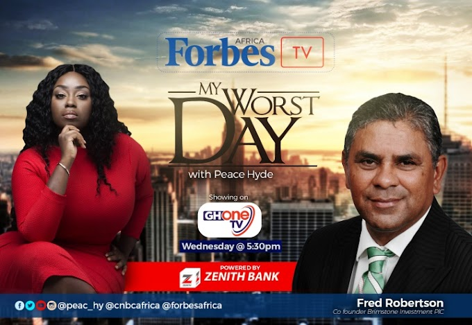 Watch: SA billionaire, Fred Robertson on My Worst Day with Peace Hyde