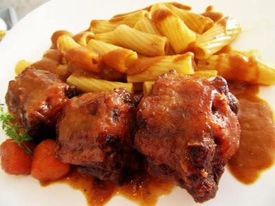 Juneći rep na gulaš / Beef tail in sauce