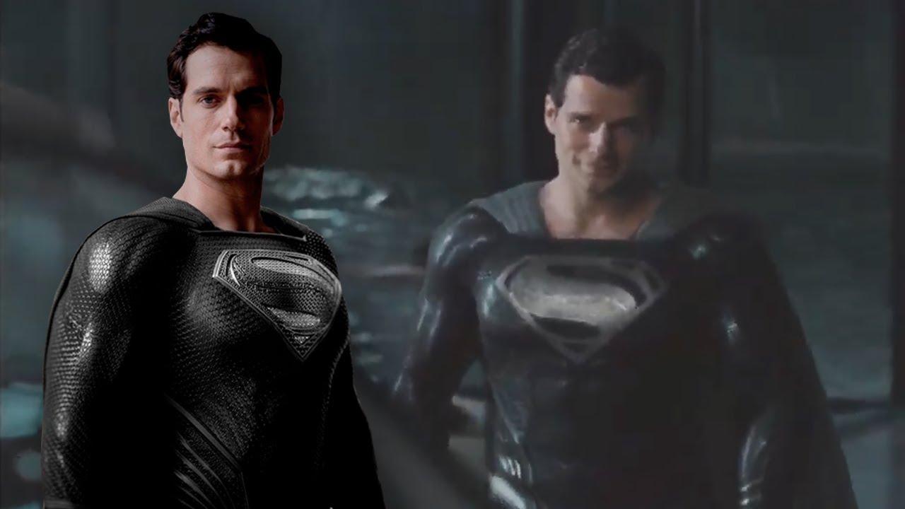 Cine y TV ¡Parece Batman! La sorprendente imagen de Superman vestido de negro