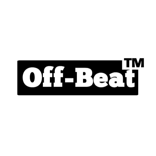 Typography Logo Design for Off-Beat