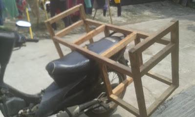 Gerobak motor Martabak mini