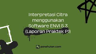 Interpretasi Citra menggunakan Software ENVI 5.3 (Laporan Praktek PJ)