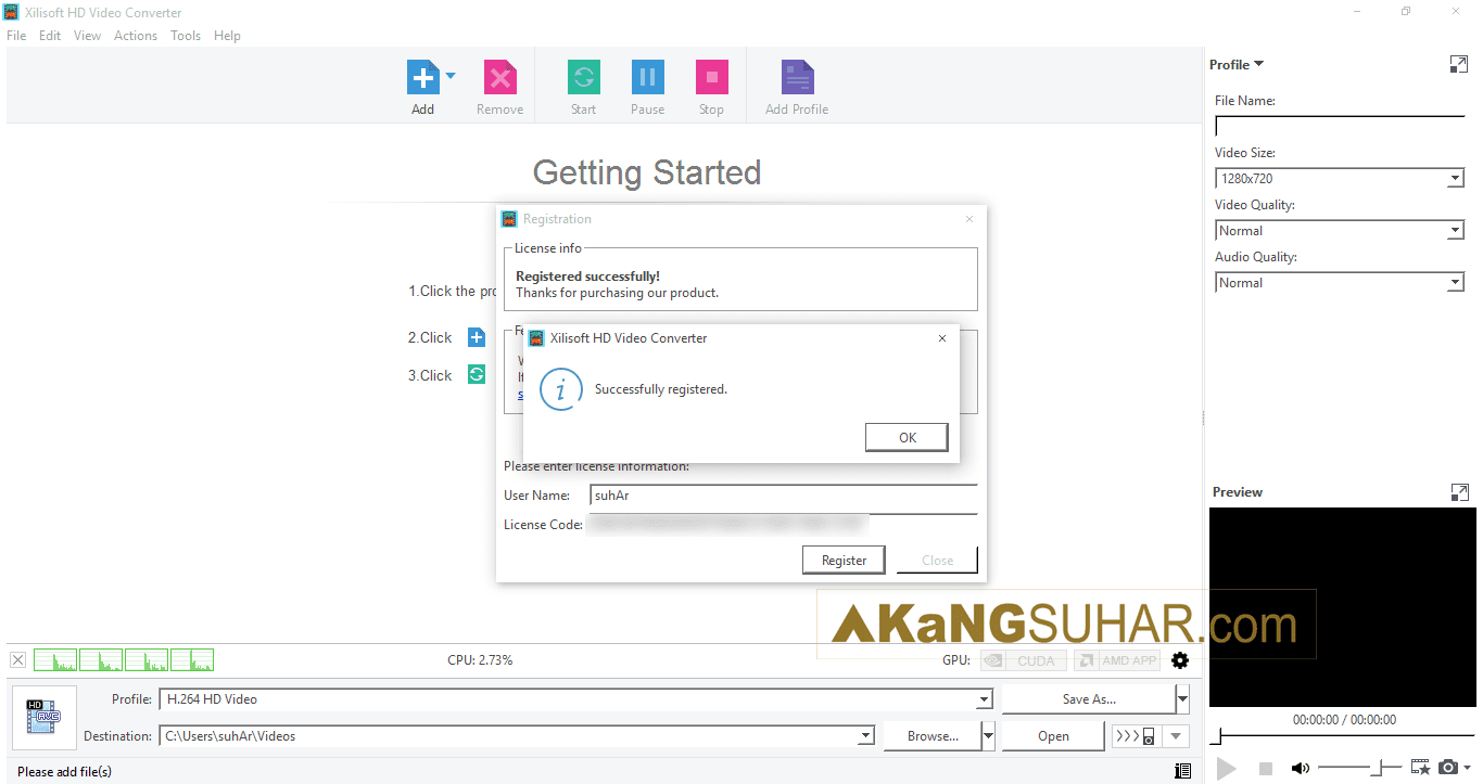 Free download Xilisoft HD Video Converter 7 final full version terbaru gratis serial number patch keygen crack license key activation code for windows www.akangsuhar.com