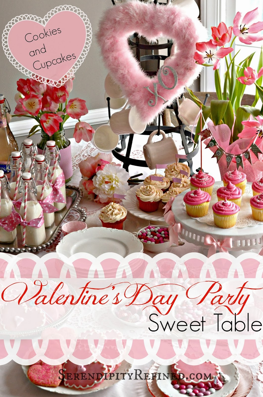 serendipity refined blog easy valentine 39 s cupcake and. Black Bedroom Furniture Sets. Home Design Ideas