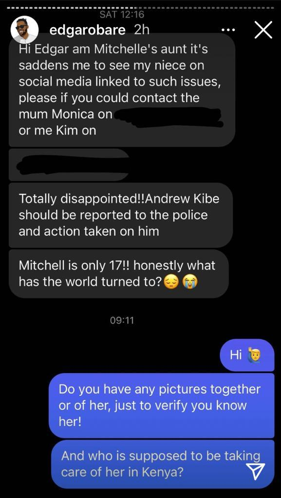Mother Of Underage Girl Warming Andrew Kibe's Bed Threatens Legal Action