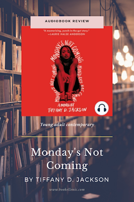 Monday's Not Coming book review bookellenic.com