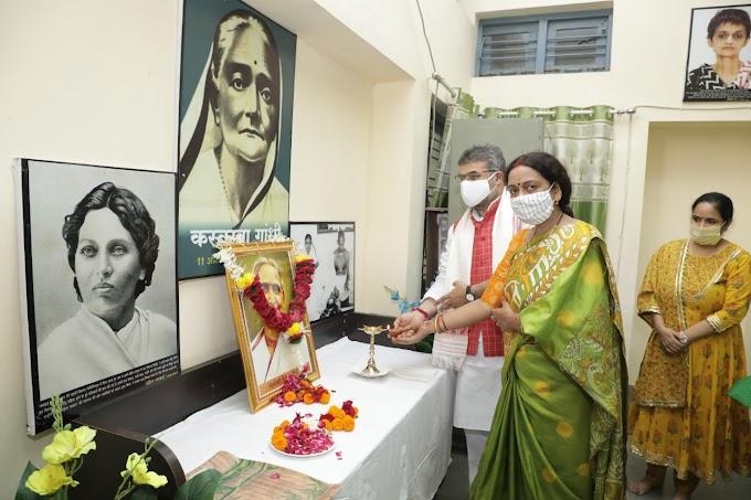 लक्ष्मीबाई केलकर ने स्त्री शक्ति का आत्मबोध कराया - डॉ. शरद रेणु शर्मा