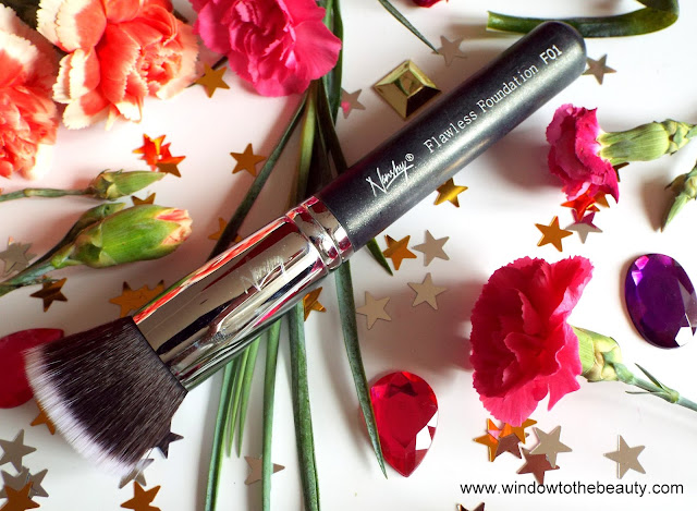 Nanshy Flat Top Foundation brush review