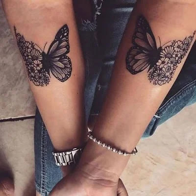 Butterfly tattoo designs for girls