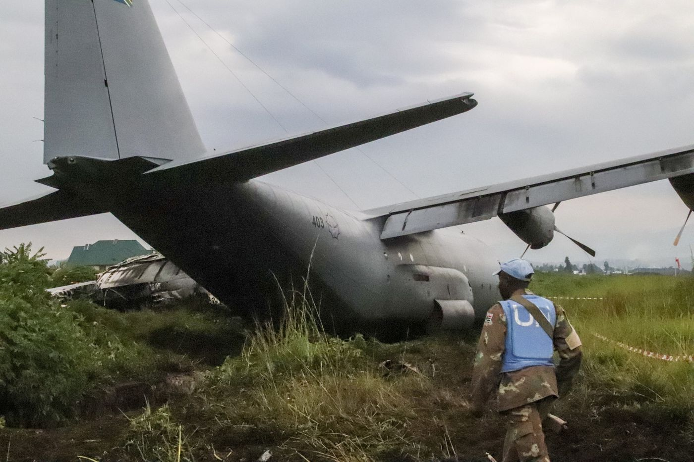 UN: South African Military Plane Crash-lands In Congo