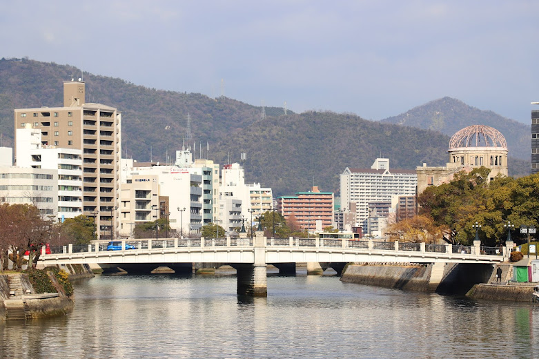 Cycling in the Hiroshima district