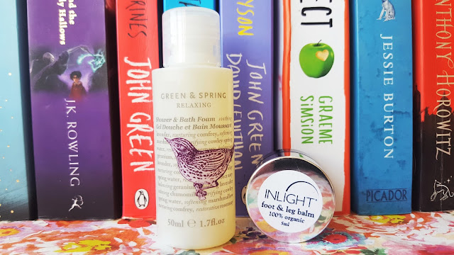 Inlight Foot & Leg Balm & Green and Spring Relaxing Shower and Bath Foam