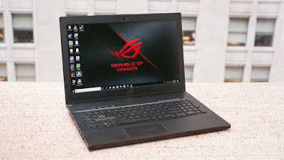 Asus ROG Zephyrus M GM501 Laptop Gaming Pertama Bertenaga Intel Coffee Lake