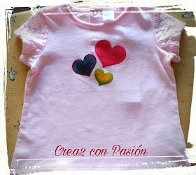 Stencil en camiseta de bebé