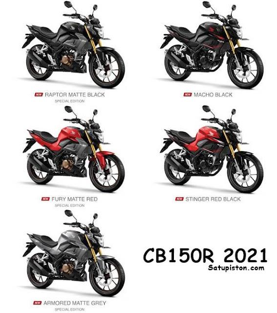 10 Perbedaan CB150R 2021 dan 2020, Apa Saja Yang Beda !!