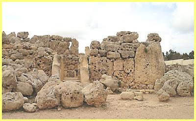 Ruinas del Templo de  Ġgantija