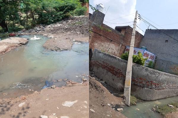 faridabad-tilpat-baba-soordas-colony-news