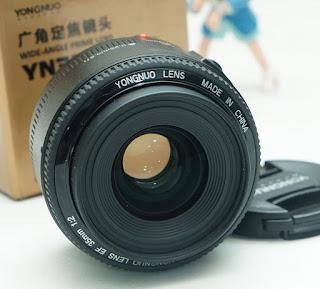 Jual Yongnuo 35mm f2 for Nikon Bekas
