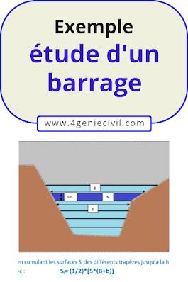 étude de faisabilité barrage, etude d un barrage hydroélectrique