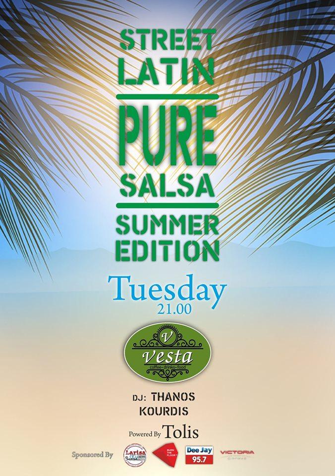 Street Latin | Pure Salsa - Vesta
