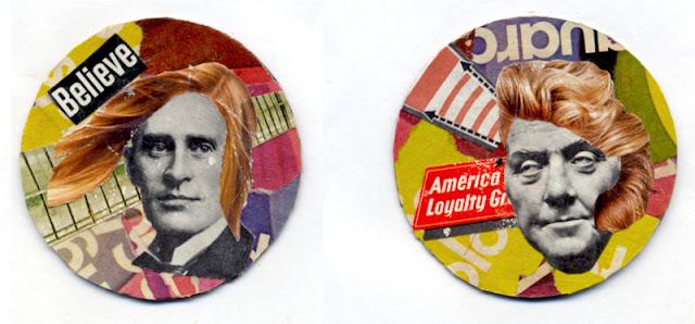round coin collages by C Mazzie-Ballheim