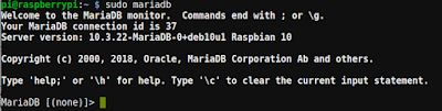 Accediendo al gestor MariaDB