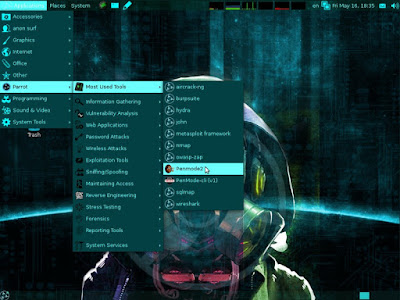 Parrot OS for Etichal Hacking