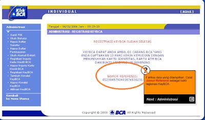Registrasi keyBCA