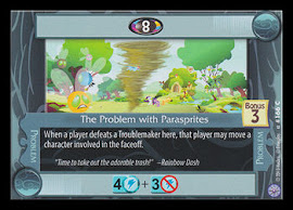 My Little Pony The Problem with Parasprites Premiere CCG Card