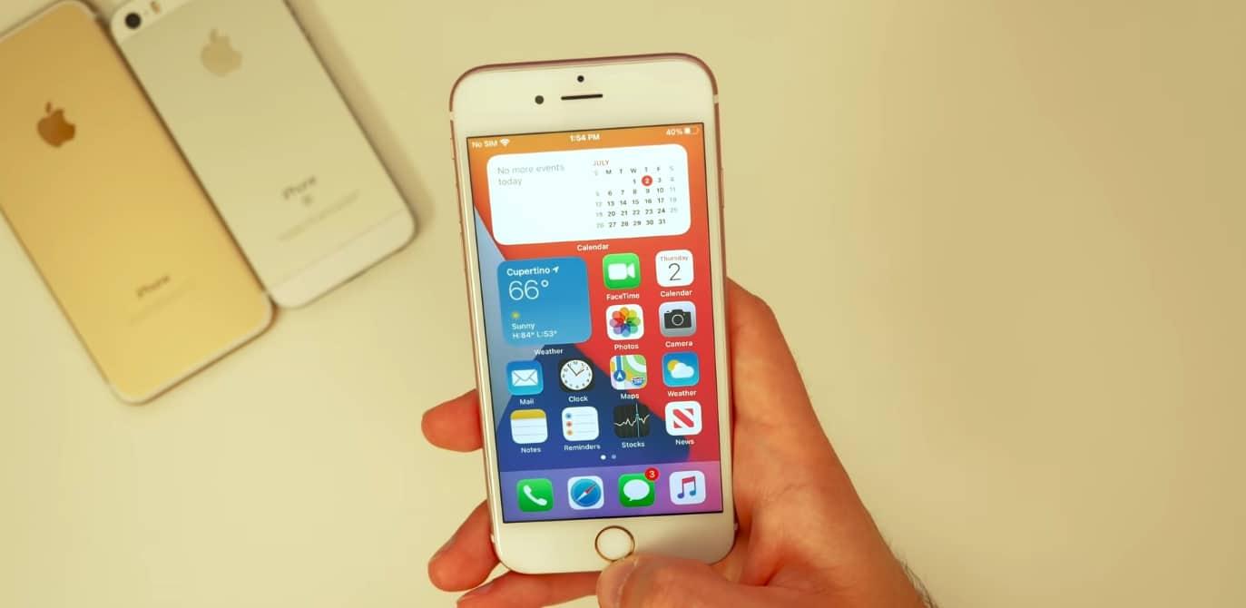 iPhone 6s 老用戶升級 iOS 14 後破涕為笑:再戰一年
