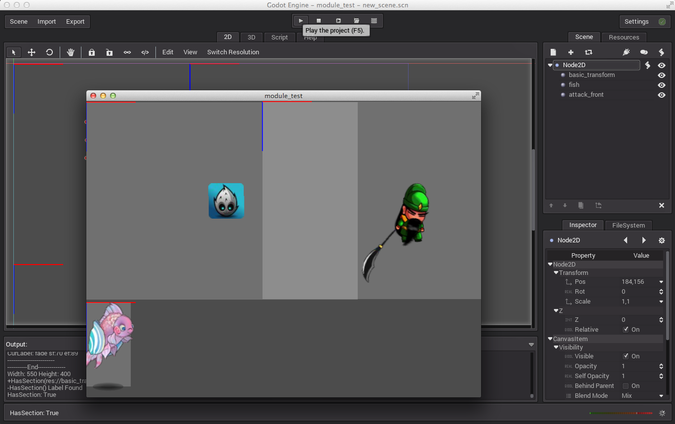 My Work: Flash animations in GoDot Engine