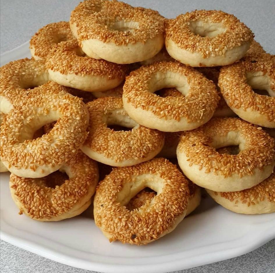biscuit au sésames