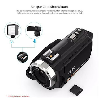 Handycam Camcorder HDV-524KM 4K Wifi 48MP 16X Zoom Microphone Sisa Stok