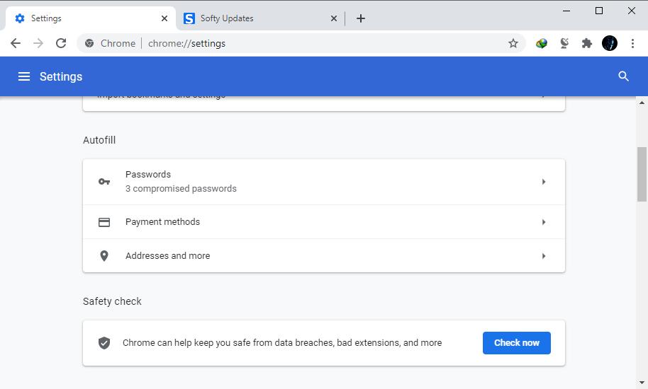 Google Chrome Browser 89.0.4389.114