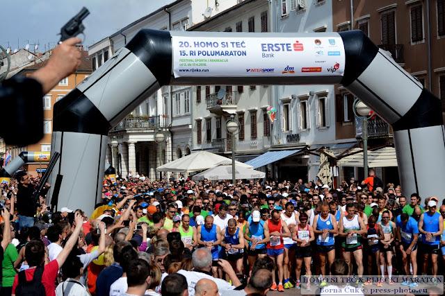 """""""Homo si teć"""" i Riječki polumaraton i 1.Riječki maraton @  Festival sporta i rekreacije Rijeka, 17.04.2016"""